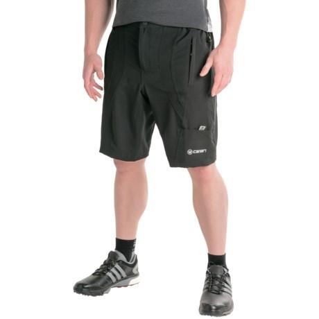 Canari Singletrack Baggy Bike Shorts (For Men) in Black