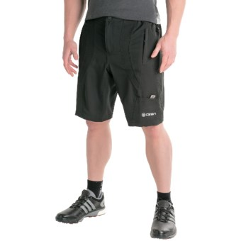 Canari Singletrack Baggy Cycling Shorts (For Men) in Black
