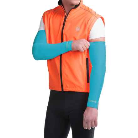 Canari Solar Flare Arm Warmers (For Men) in Electric Blue - Closeouts