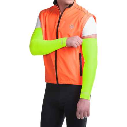 Canari Solar Flare Arm Warmers (For Men) in Killer Yellow - Closeouts