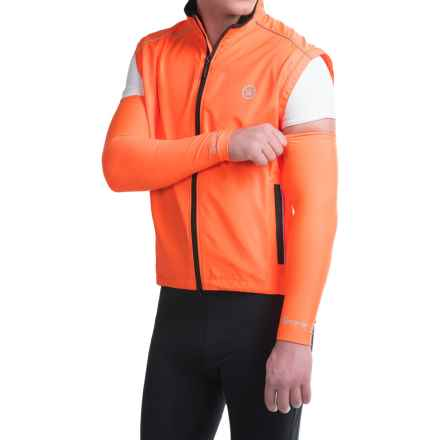 Canari Solar Flare Arm Warmers (For Men) in Solar Orange - Closeouts