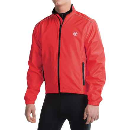 Canari Solar Flare Elite Convertible Jacket (For Men) in Red Hot - Closeouts