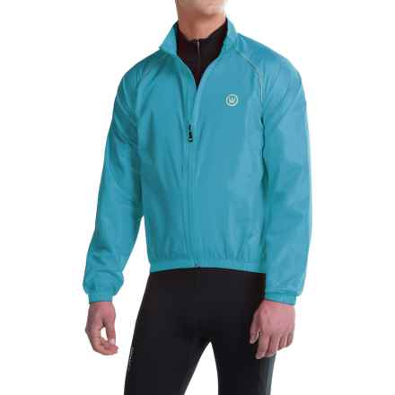 Canari Solar Flare Wind Shell Cycling Jacket (For Men) in Electric Blue - Closeouts