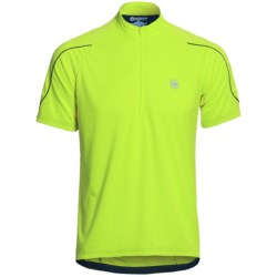 Canari Sportech Cruiser Jersey - Zip Neck, Short Sleeve (For Men) in Killer Yellow