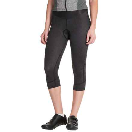 Canari Static Cycling Knickers - UPF 30 (For Women) in Black - Closeouts