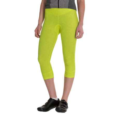 Canari Static Cycling Knickers - UPF 30 (For Women) in Killer Yellow - Closeouts