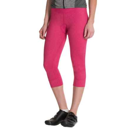 Canari Static Cycling Knickers - UPF 30 (For Women) in Panther Pink - Closeouts