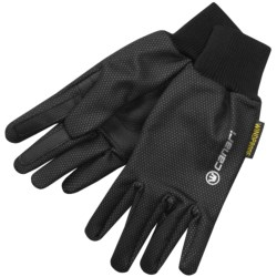 Canari Static Gloves - Windproof (For Men and Women) in Black