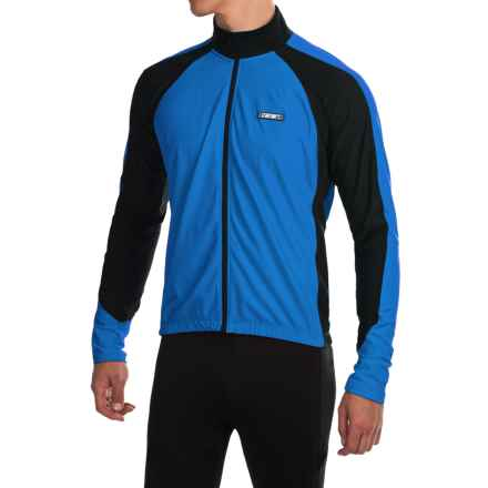 Canari Stratus Cycling Jersey - Long Sleeve (For Men) in Breakaway Blue - Closeouts