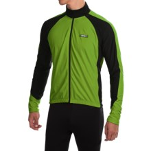 Canari Stratus Cycling Jersey - Long Sleeve (For Men) in Ecto Green - Closeouts