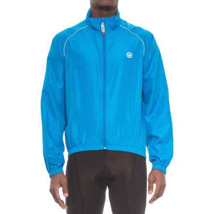 Canari Three-Season Shell Cycling Jacket (For Men) in Breakaway Blue - Closeouts