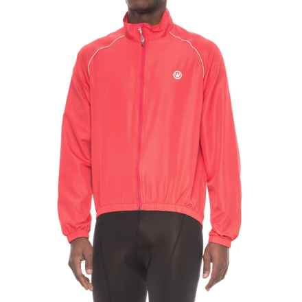 Canari Three-Season Shell Cycling Jacket (For Men) in Radar Red - Closeouts