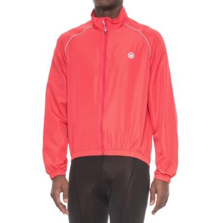 Canari Three-Season Shell Cycling Jacket (For Men) in Radar Red
