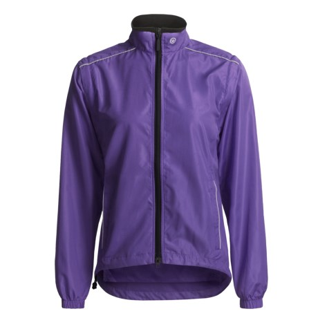 Canari Tour Cycling Jacket - Convertible (For Women) in Iris