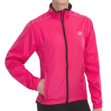 Canari Tour Cycling Jacket - Convertible (For Women) in Panther Pink - Closeouts