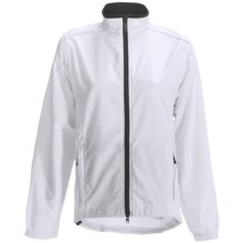 Canari Tour Cycling Jacket - Convertible (For Women) in White - Closeouts