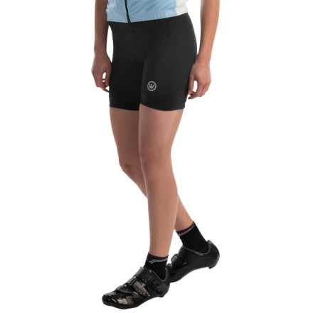 Canari Tri Bike Shorts (For Women) in Black - Overstock