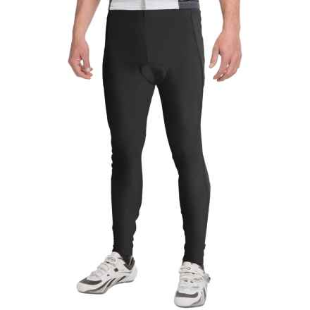 Canari Veloce Pro Cycling Tights (For Men) in Black - Closeouts