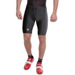 Canari Vortex Gel Bike Shorts (For Men) in Black