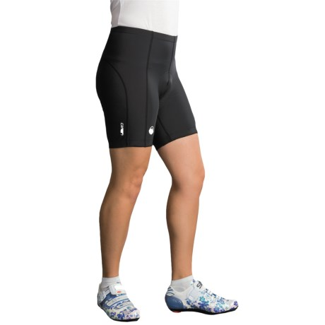 Canari Vortex Gel Bike Shorts (For Women) in Black