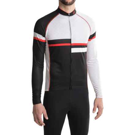 Canari Voyage Cycling Jersey - UPF 30+, Long Sleeve (For Men) in Black - Closeouts