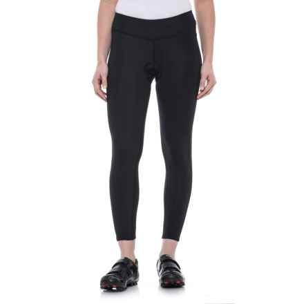 Canari Winter Pro Cycling Tights - Built-In Chamois (For Women) in Black - Closeouts