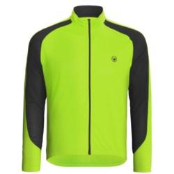 Canari Zoom Cycling Jersey - Full Zip, Long Sleeve (For Men) in Killer Yellow