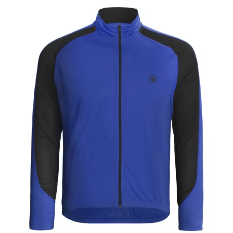 Canari Zoom Cycling Jersey - Full Zip, Long Sleeve (For Men) in Breakaway Blue