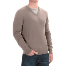 C/89 by Cullen Merino Wool Sweater - V-Neck (For Men) in Wheat - Closeouts