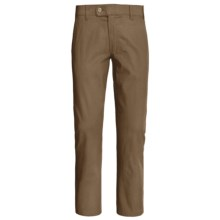 Canda Fabric-Lined Twill Pants (For Men) in Brown - 2nds