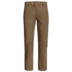 Canda Fabric-Lined Twill Pants (For Men) in Brown