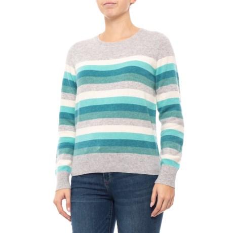 259e1c92db C&C California Stripe Sweater - Cashmere (For Women) in Blue Combo