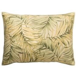 C&F Enterprises Palm Breeze Pillow Sham - Standard in Palm
