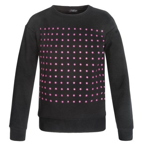Candy Hearts by Hartstrings Candy Button Popover Sweatshirt (For Big Girls)