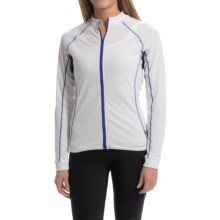 Cannondale Classic Cycling Jersey - Long Sleeve (For Women) in White - Closeouts