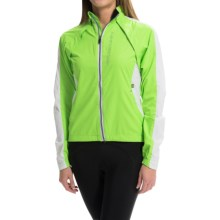 Cannondale Morphis Convertible Cycling Jacket (For Women) in Berzerker Green - Closeouts