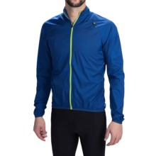 Cannondale Pack Me Cycling Jacket (For Men) in Blue - Closeouts
