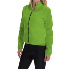 Cannondale Pack Me Cycling Jacket (For Women) in Berzerker Green - Closeouts
