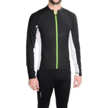 Cannondale Prelude Cycling Jersey - Long Sleeve (For Men) in Black - Closeouts