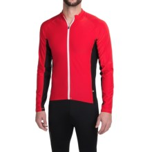 Cannondale Prelude Cycling Jersey - Long Sleeve (For Men) in Red - Closeouts