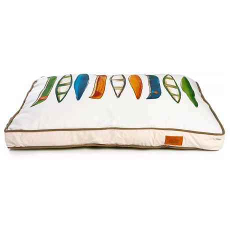 Image of Canoes Rectangle Dog Bed - 28x40?