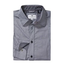 Canterbury Jarrod Shirt - Long Sleeve, Contrast Collar and Cuffs (For Men) in Black - Closeouts