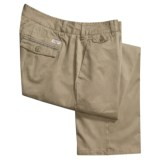 Canterbury Selvage Chino Pants - Flat Front (For Men)