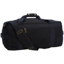 "Canvas Duffel Bag - 21"" in Black - Closeouts"