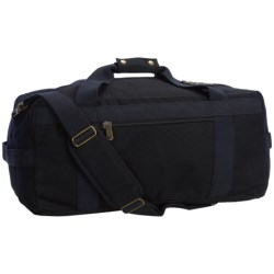 "Canvas Duffel Bag - 21"" in Black"