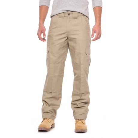 Image of Canvas Tactical Pants - Relaxed Fit, Straight Leg (For Men)