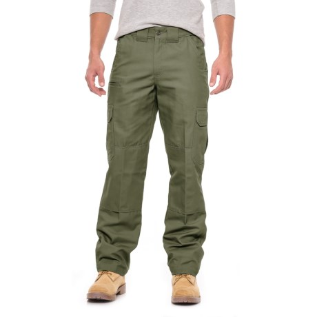 Canvas Tactical Pants - Relaxed Fit, Straight Leg (For Men)