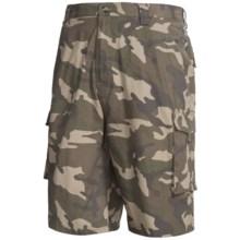 Canyon Guide Camo Cargo Shorts (For Men) in Camo - Closeouts