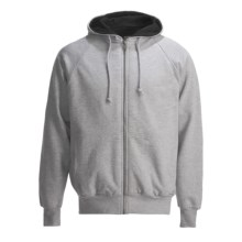 Canyon Guide Hoodie Sweatshirt - Thermal-Lined (For Men) in Heather Grey - Closeouts