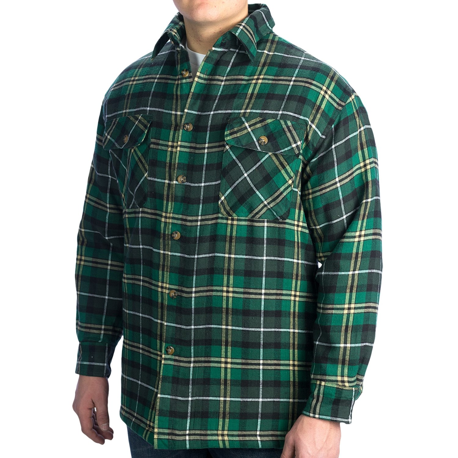 Flannel lined shirts for men for Mens insulated flannel shirts